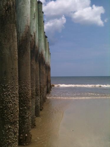 The Poles, Hanna Beach, August, 2012
