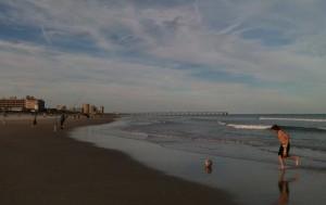 Crowded Jax Beach