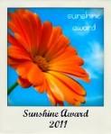 Sunshine Award graphic
