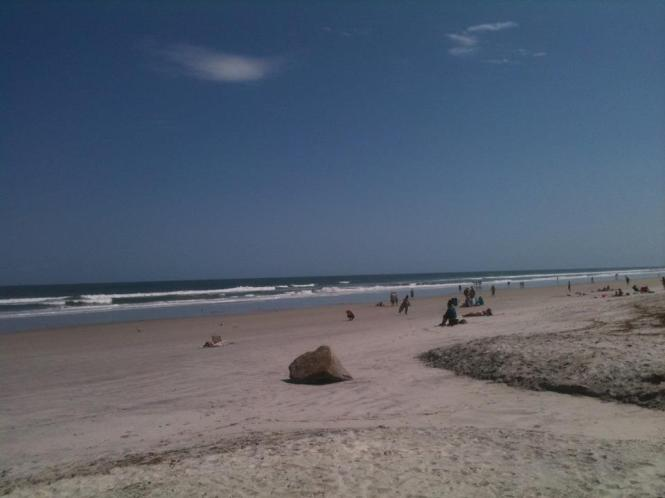 Springing forward at Jax Beach