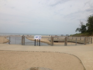 Indiana Dunes Beach at Indiana Dunes State Park