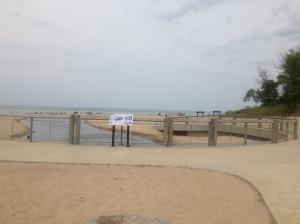 Indiana Dunes Beach at Indiana Dunes State Park